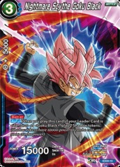 Nightmare Scythe Goku Black - Foil - EX03-10 - EX