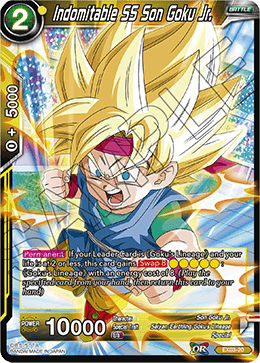 Indomitable SS Son Goku Jr. - EX03-20 - EX
