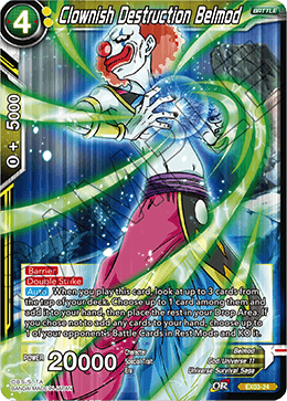 Pirate/'s Pride FOIL EX05-02 EX Dragon Ball Super TCG  Boujack