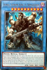 Demise, Supreme King of Armageddon - CYHO-EN030 - Rare - 1st Edition