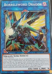 Borrelsword Dragon - CYHO-EN034 - Secret Rare - 1st Edition