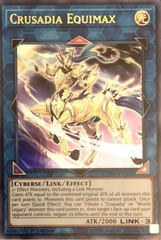 Crusadia Equimax - CYHO-EN044 - Ultra Rare - 1st Edition on Channel Fireball