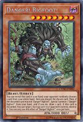 Danger! Bigfoot! - CYHO-EN082 - Secret Rare - 1st Edition