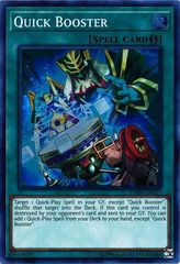Quick Booster - DASA-EN057 - Super Rare - Unlimited