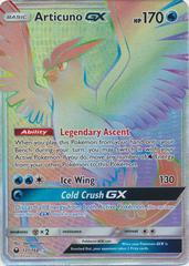 Articuno GX - 171/168 - Secret Rare