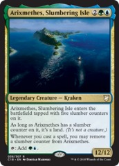 Arixmethes, Slumbering Isle on Channel Fireball