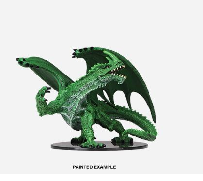 Pathfinder Battles Unpainted Minis - Gargantuan Green Dragon