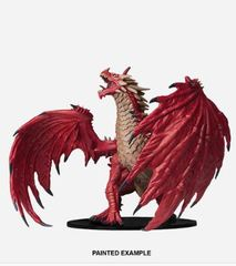 Pathfinder Battles Unpainted Minis - Gargantuan Red Dragon