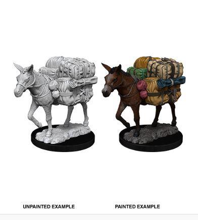 Pathfinder Battles Unpainted Minis - Pack Mule