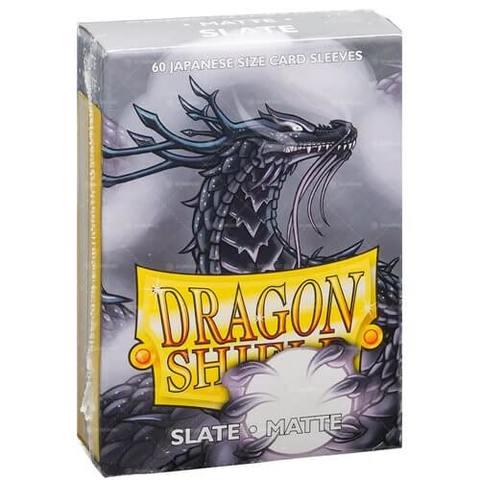 Dragon Shield Matte - Japanese size - Slate- 60 ct
