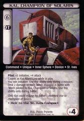 Kai, Champion of Solaris