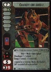 Crockett (CRK-5003-1)