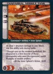 Chaparral Missile Tank