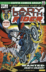 Lady Death Pin Ups #1 (Lady Death Rider Edition)
