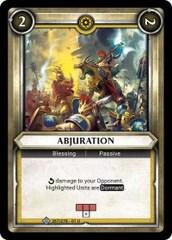 Abjuration (Claimed) - Foil