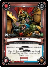Archaon (Claimed) - Foil