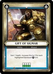 Gift of Sigmar (Unclaimed) - Foil