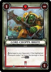 Gore-Choppa Brute (Unclaimed) - Foil