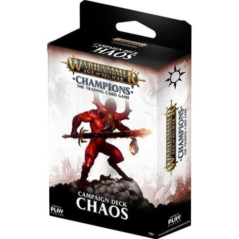 Warhammer Age of Sigmar Champions Campaign Deck: Chaos