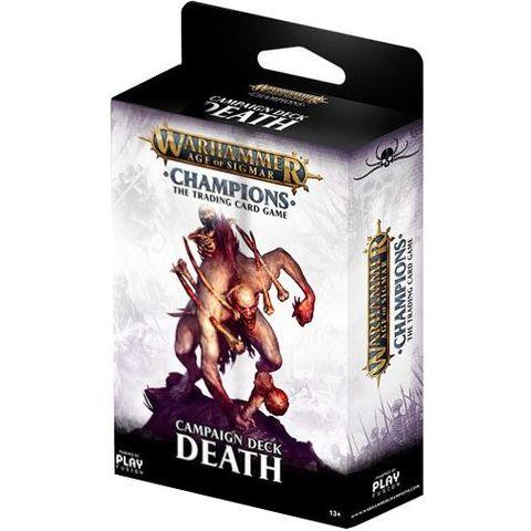 Warhammer Age of Sigmar Champions Campaign Deck: Death