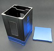 Box Gods Seer Deluxe Blue Deck Box