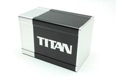 Box Gods Titan Deluxe Silver Deck Box