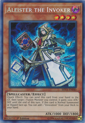 Aleister the Invoker - SHVA-EN040 - Secret Rare - 1st Edition
