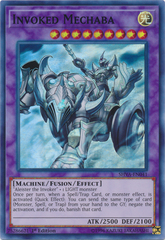 Invoked Mechaba - SHVA-EN041 - Super Rare - 1st Edition on Channel Fireball
