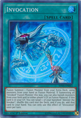Invocation - SHVA-EN043 - Super Rare - 1st Edition on Channel Fireball
