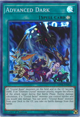 Advanced Dark - SHVA-EN056 - Super Rare - 1st Edition