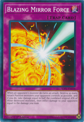 Blazing Mirror Force - SDPL-EN034 - Common - 1st Edition on Channel Fireball