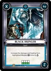 Black Hunger (Unclaimed)