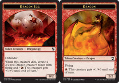 Dragon Egg Token // Dragon Token