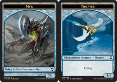 Myr Token // Thopter Token (8)