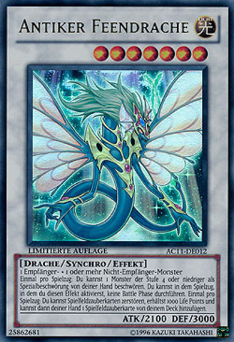 Ancient Fairy Dragon (Antiker Feendrache) - AC11-DE012 - Ultra Rare