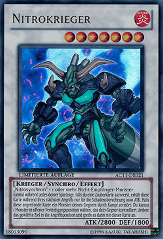 Nitro Warrior (Nitrokrieger) AC11-DE021 - Ultra Rare