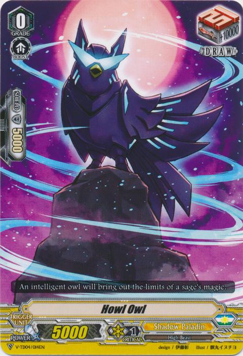 Howl Owl - V-TD04/014EN
