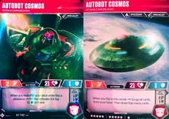 Autobot Cosmos // Recon & Communication