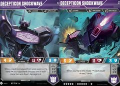 Decepticon Shockwave // Cybertron Commander