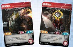 Grimlock // Dinobot Leader