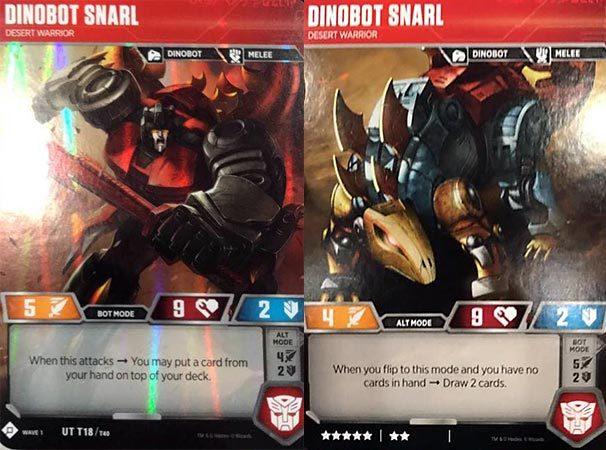 Dinobot Snarl // Desert Warrior