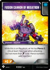 Fusion Cannon of Megatron
