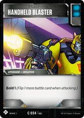 Handheld Blaster