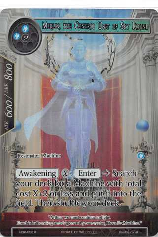 Merlin, the Control Unit of the Sky Round - NDR-052 - R - Full Art