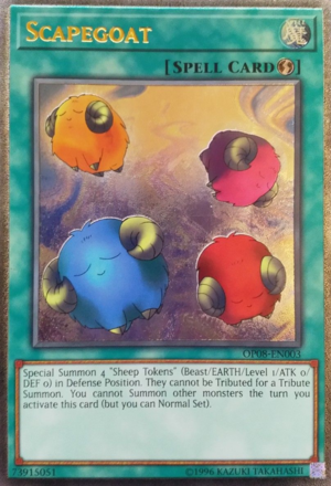 Scapegoat - OP08-EN003 - Ultimate Rare - Unlimited Edition