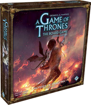 A Game of Thrones Board Game 2nd Edition - Mother of Dragons Expansion
