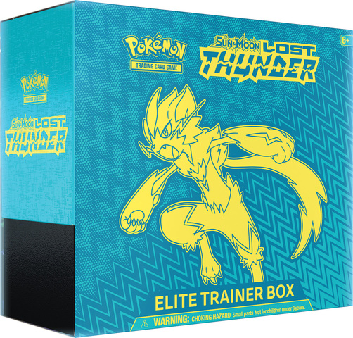 Pokemon Sun & Moon Lost Thunder Elite Trainer Box