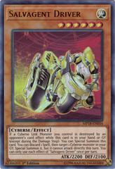 Salvagent Driver - MP18-EN034 - Ultra Rare - 1st Edition