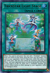 Trickstar Light Stage - MP18-EN069 - Ultra Rare - 1st Edition