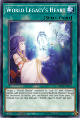 World Legacy's Heart - MP18-EN074 - Common - 1st Edition